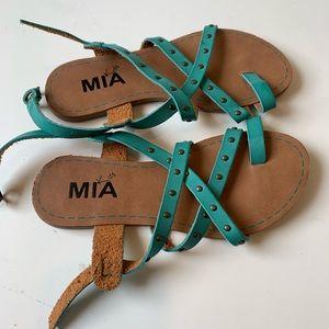 MIA kids teal sandals